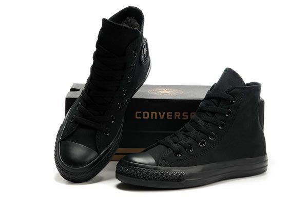 Converse All Star Black Monochromatic High Top Canvas