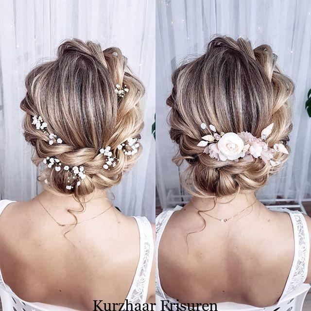 Frisuren Schritt Fur Schritt Auf Instagram In Welcher Version Magst Du Die Haarnadel Mehr Mit Gips In 2020 Floral Hair Pieces Bridal Hair Updo Wedding Hair Pieces