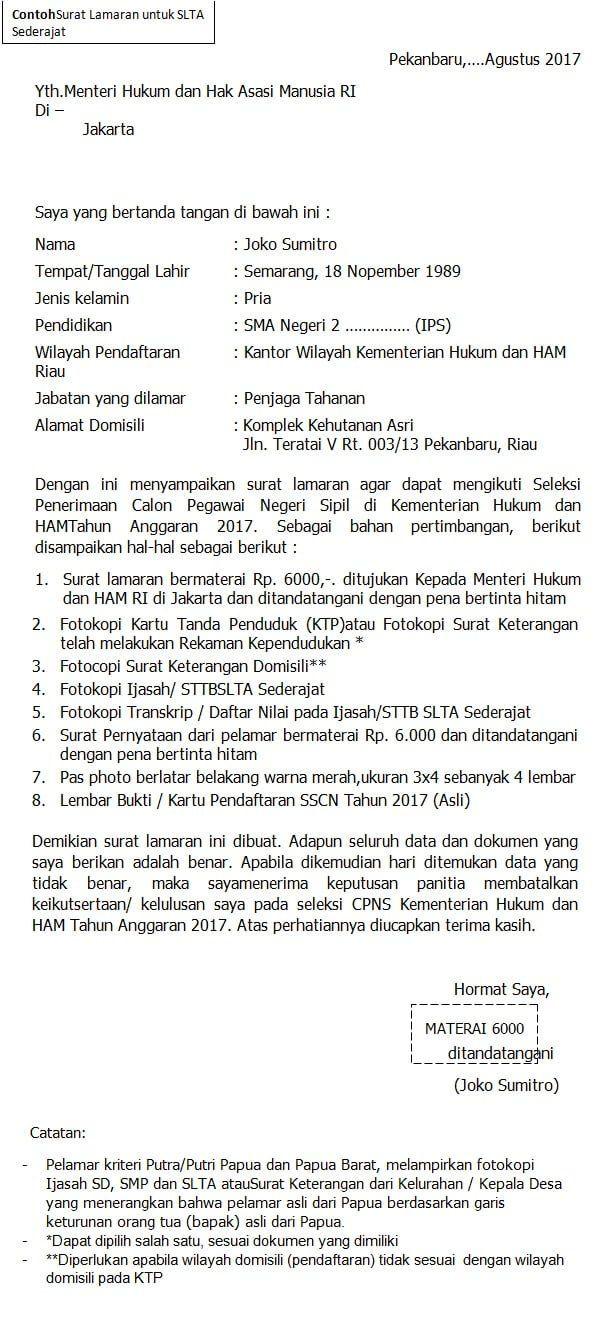 50+ Contoh Surat Lamaran Kerja Penjaga Konter - BERBAGI RESEP