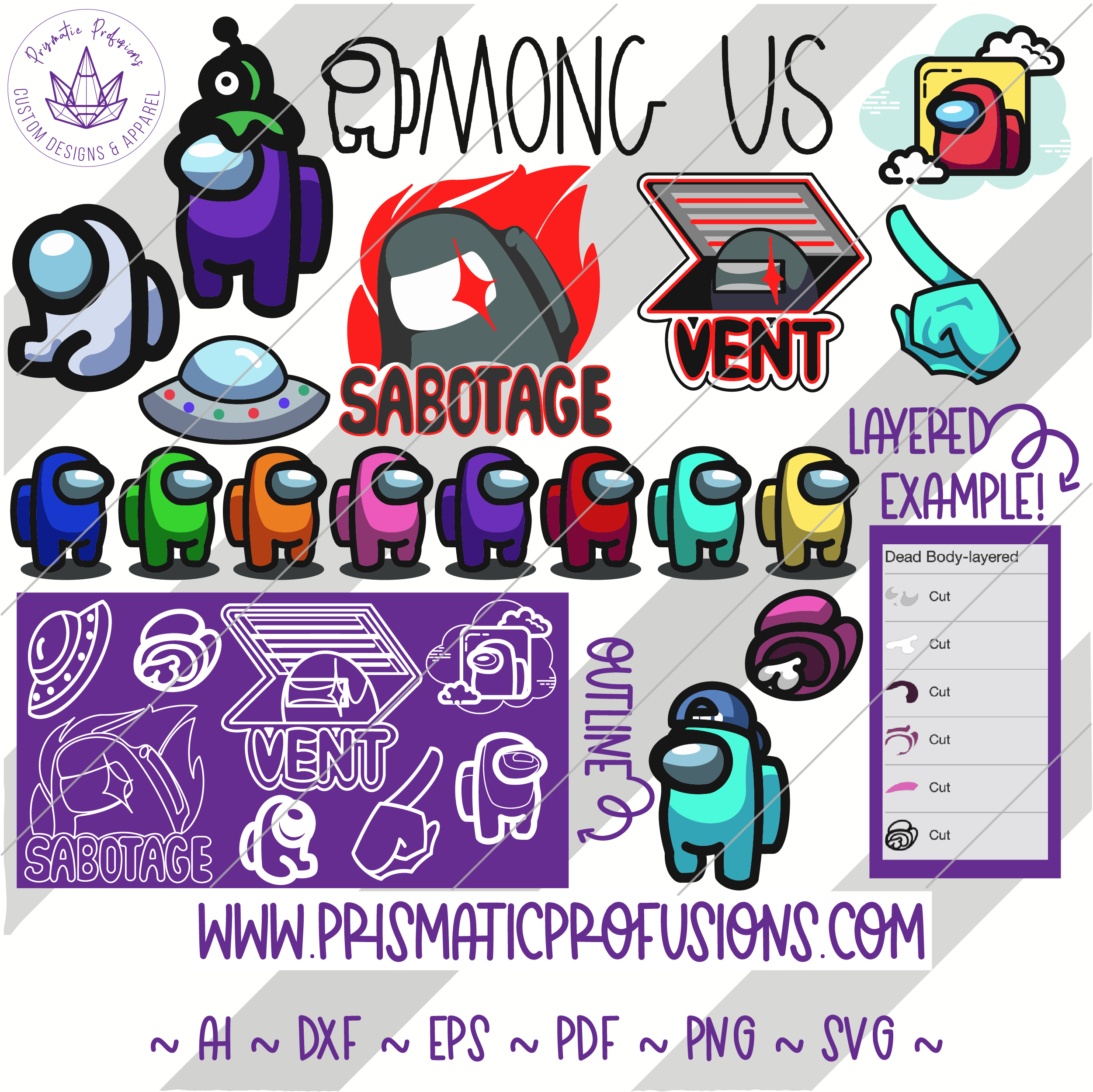 Among Us Svg Bundle In 2021 Svg Cup Decal Clip Art