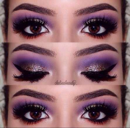 46  Ideas Nails Purple Prom Eye Makeup #dancemakeup