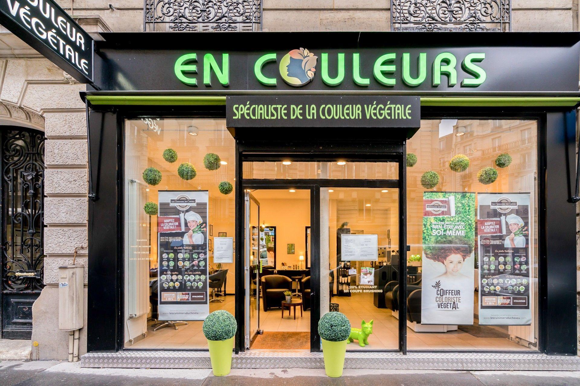 Salon De Coiffure En Couleurs Vegetale Rue Parrot 75012 Paris Salon De Coiffure Vegetal Salon