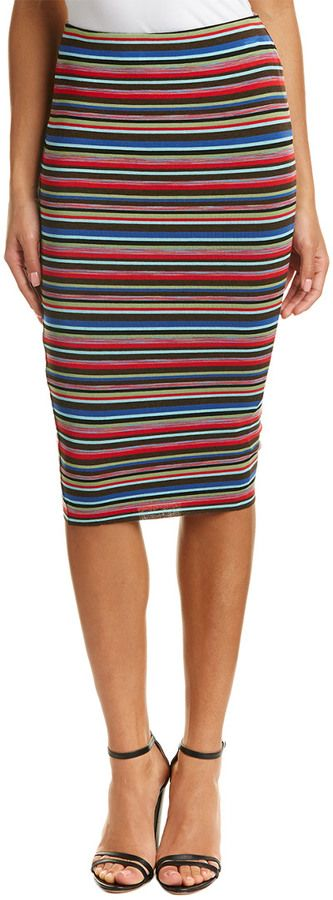 Bailey 44 Bailey44 Striped Pencil Skirt