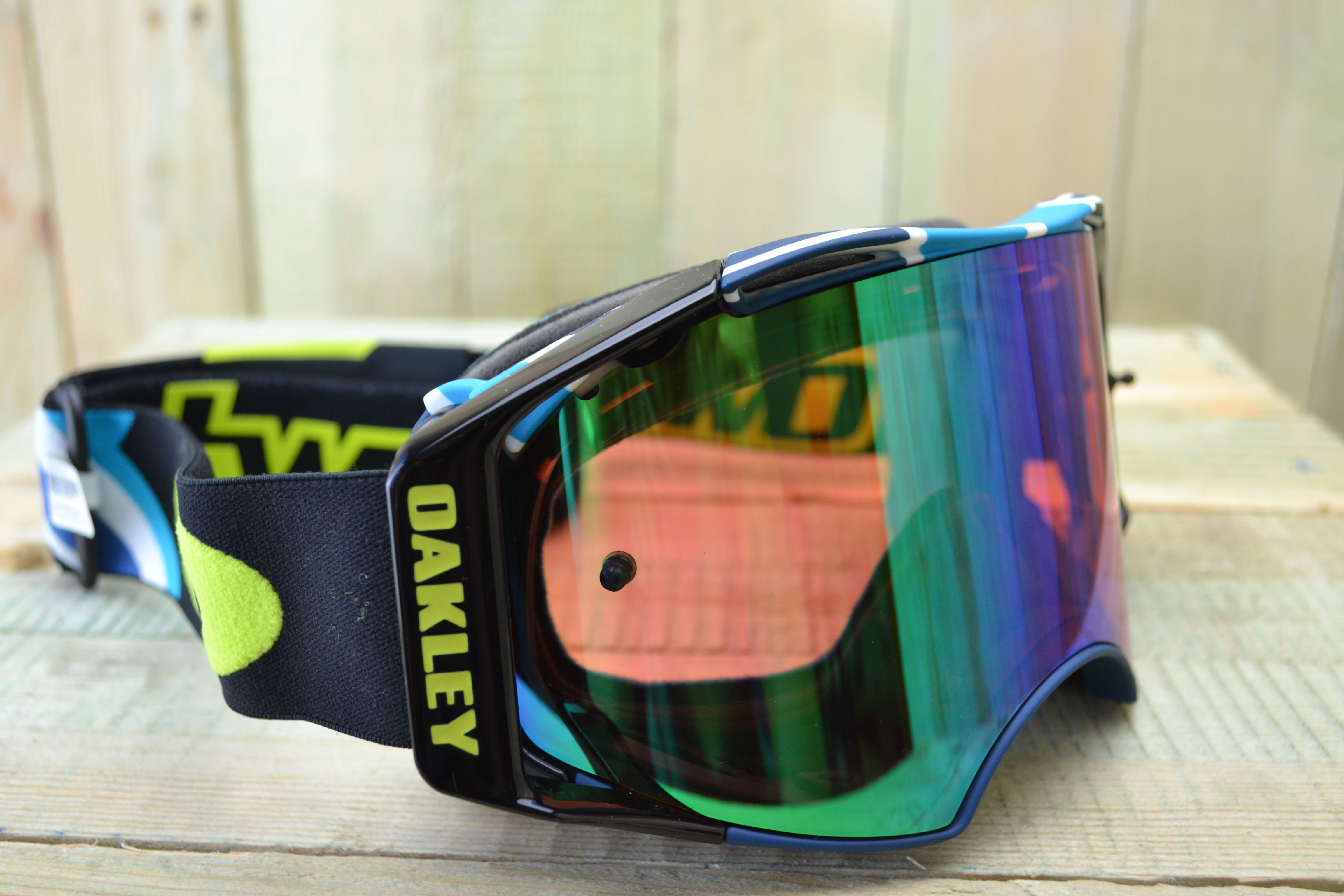 2574d2a4075 Oakley Airbrake MX Goggles - Chad Reed Speedstripe Prizm Jade Sig Ed ...