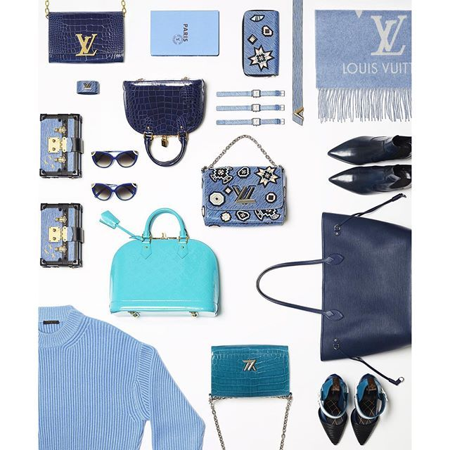 """""""Turquoise blue suggests an alternative elegance: #LouisVuitton in color"""" Photo taken by @louisvuitton on Instagram, pinned via the InstaPin iOS App! http://www.instapinapp.com (09/26/2015)"""