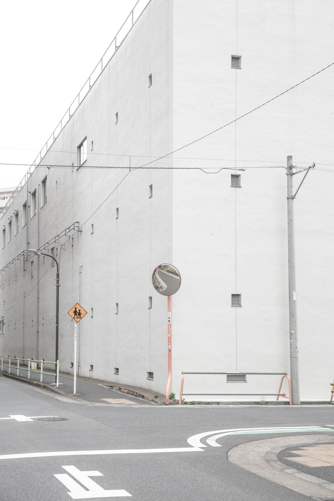 Street Tokyo 3 Minimalist Photography Scenery Wallpaper Minimal Wallpaper