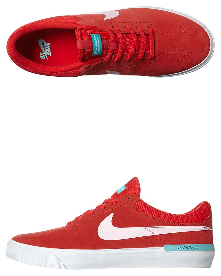 61b1b1a1008 Share this board Mens Nike Sb Koston Hypervulc Eric Koston Shoe Red Cotton  http