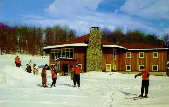 Grossinger Hotel Ski Lodge Liberty Ny