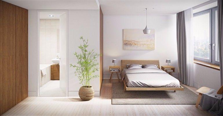 Lovely Gorgeous Oriental Inspired Bedroom Design