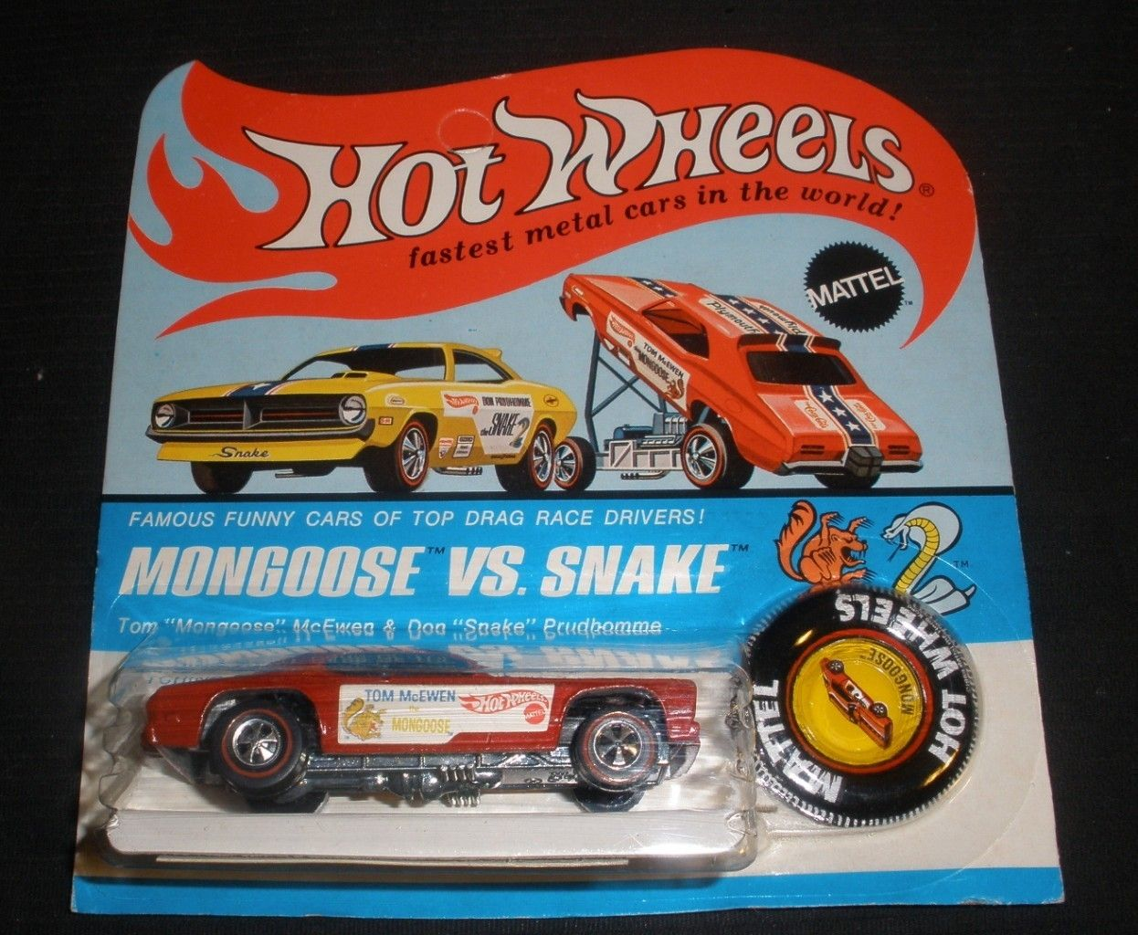 Hot Wheels Redline Mongoose Funny Car With Images Hot Wheels