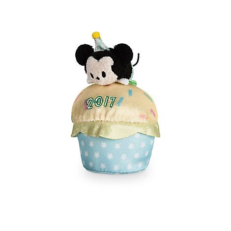 Mickey Mouse Tsum Tsum Plush Birthday Cupcake 2017 Mini 4
