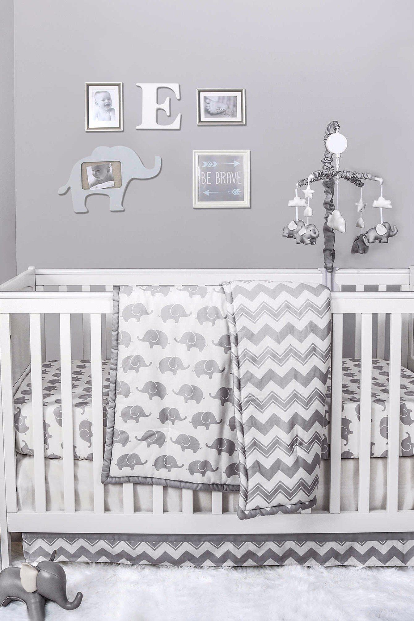 50 Adorable Decor Items For An Elephant Themed Nursery Nursery