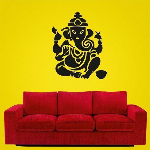 Ganesh wall sticker!