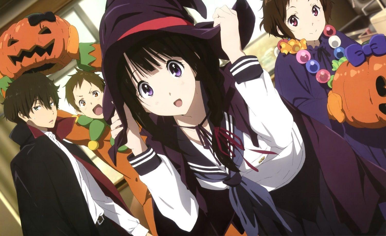 Anime Hyouka Eru Chitanda Hōtarō Oreki Mayaka Ibara