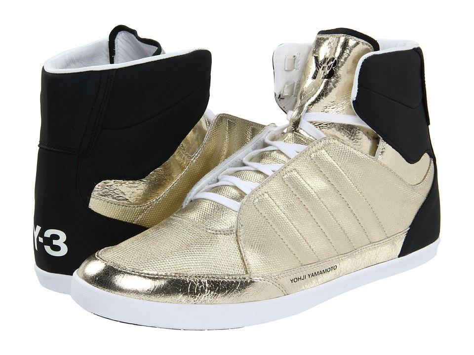 3f41f75c9e05a ... Adidas Y 3 By Yohji Yamamoto Honja High Metallic Gold Black White ...