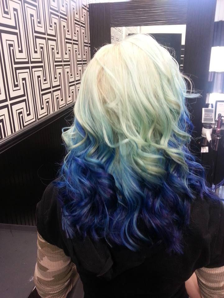amazing hair color - ocean