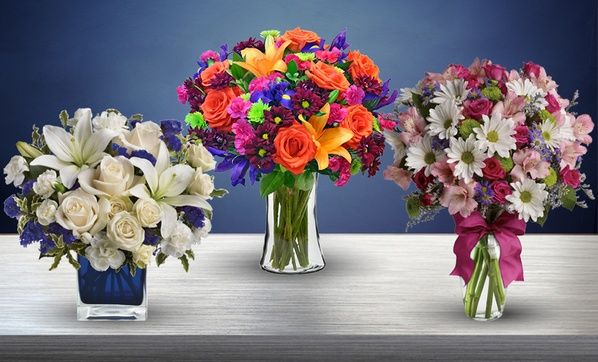 Vibrant Flowers With Shipping Included From Blooms Today