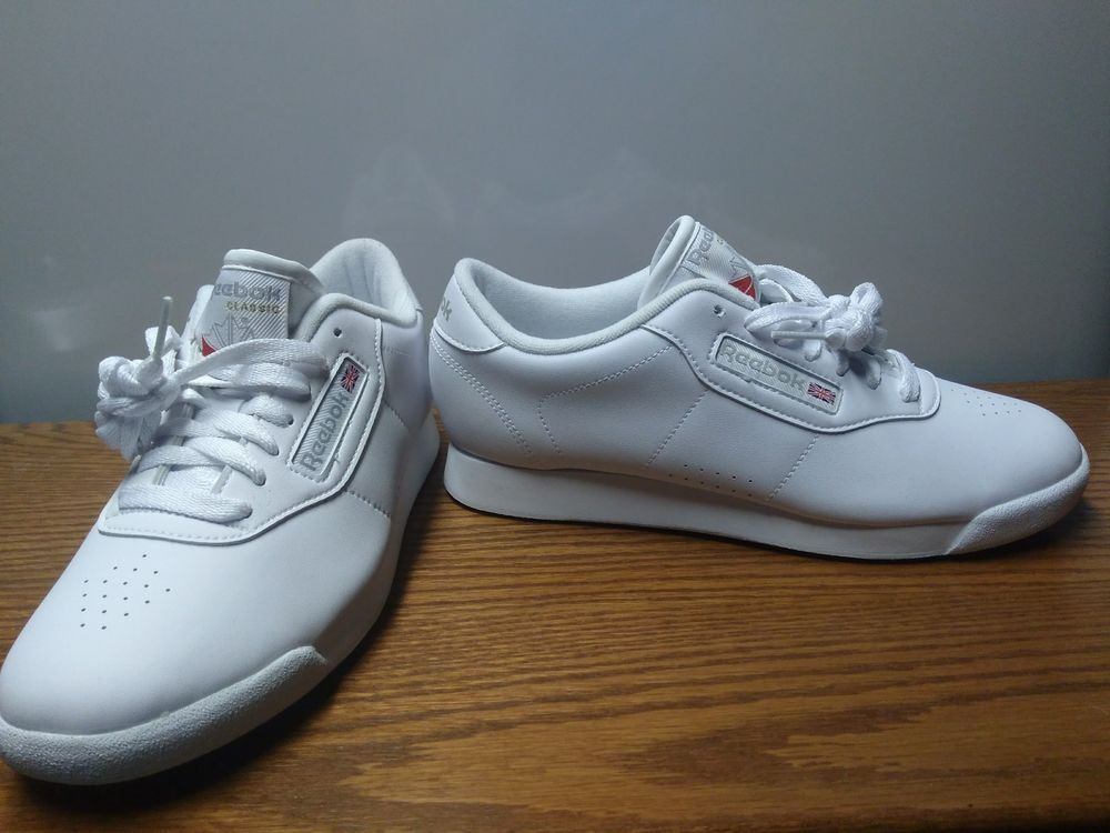 fa9ec71c31a New Womens REEBOK Classic Sneakers PRINCESS 1475 WHITE Size 7.5 Running  Shoes  fashion  clothing  shoes  accessories  womensshoes  athleticshoes (ebay  link)