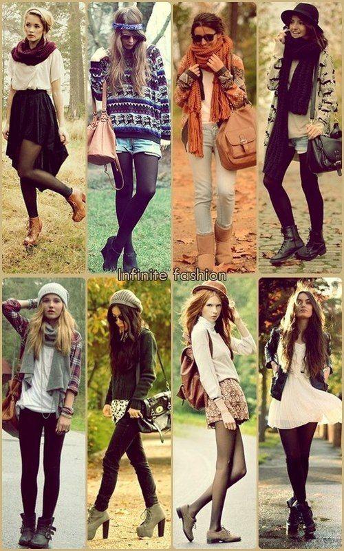 6b1075d74 outfit otoño-invierno, 8 estilos para combinar este invierno ...