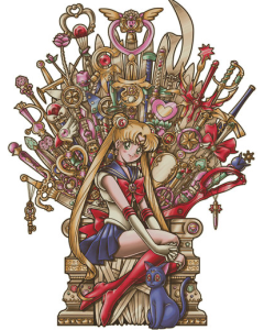"Sailor Moon ""Throne of Magic"""