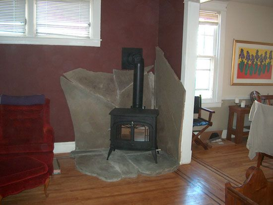 Wood Stove Hearth Ideas Follows Local And National Building