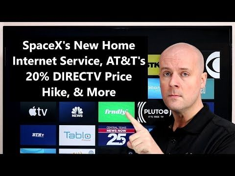 CCT SpaceX's New Home Service, AT&T's 20