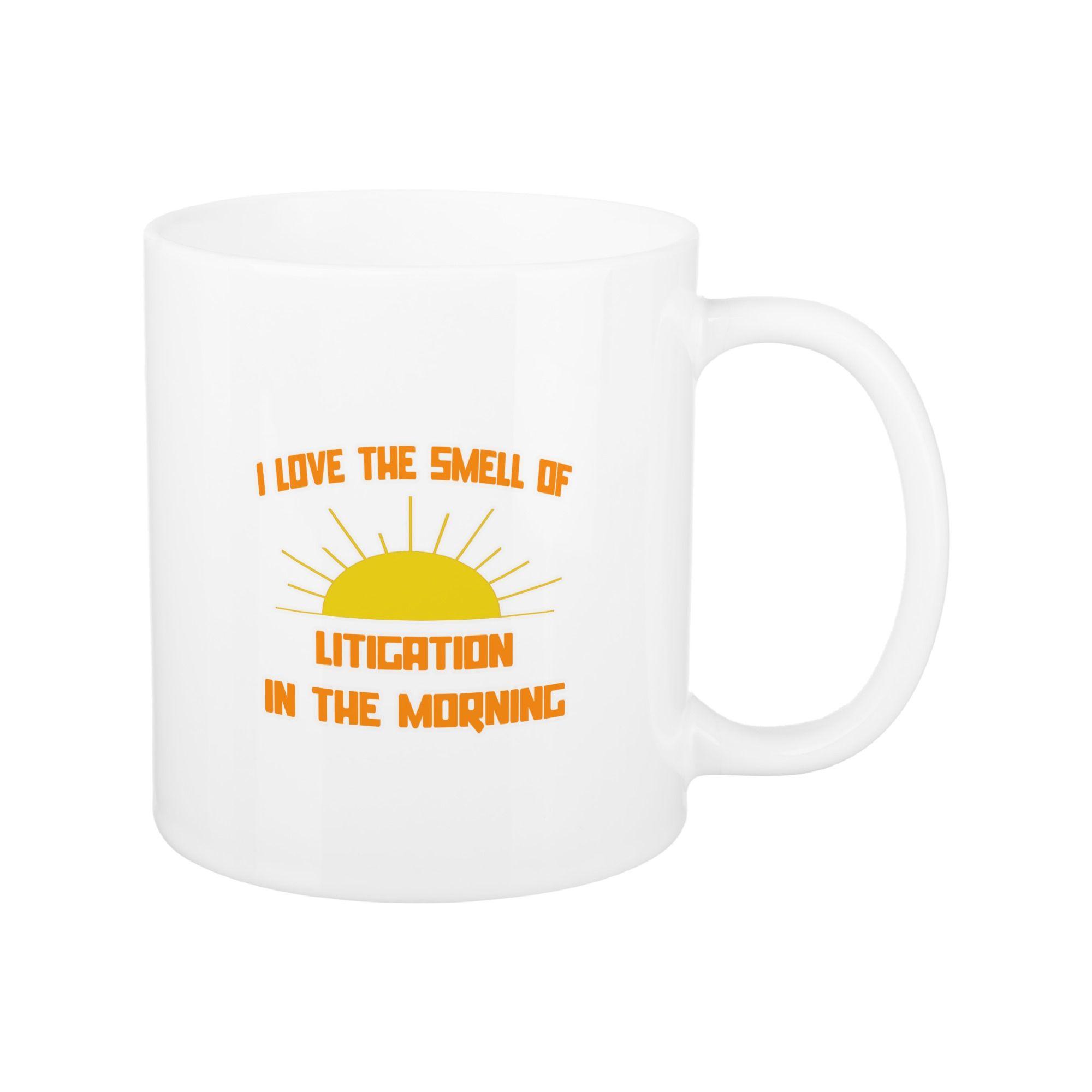 Litigation mug