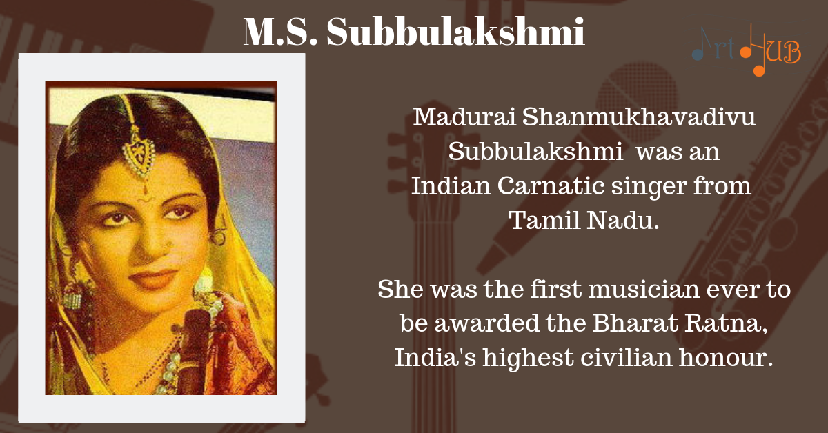 Madurai Shanmukhavadivu Subbulakshmi was an Indian