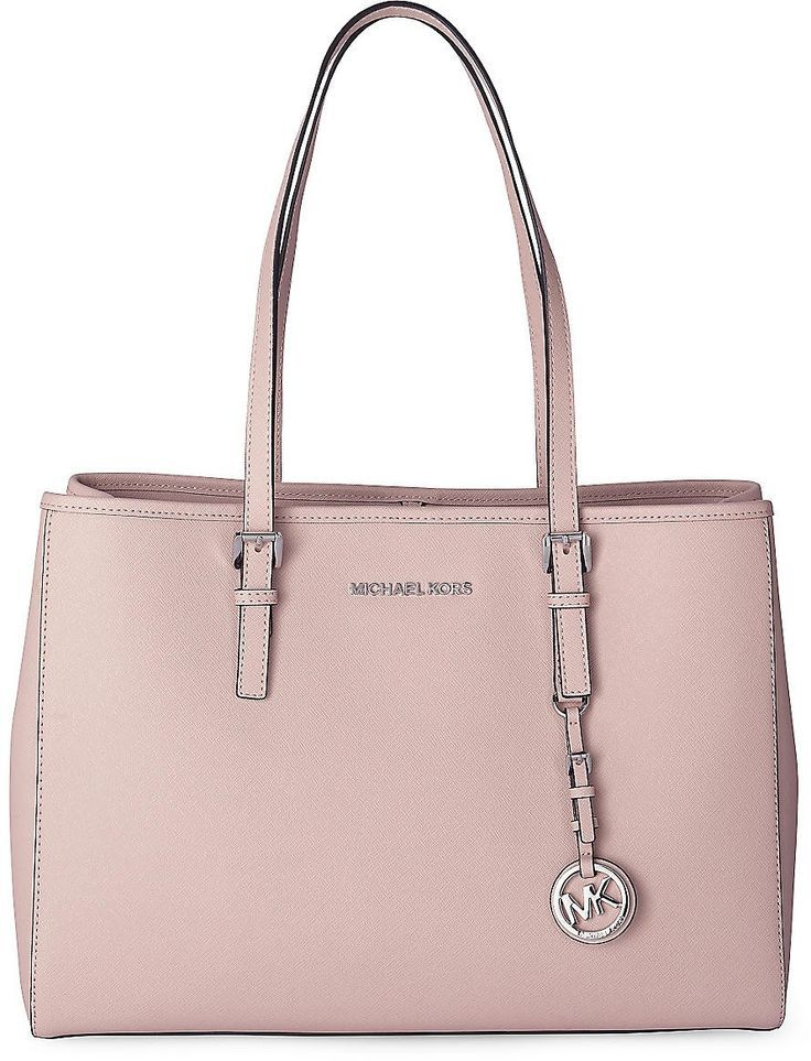 Tasche JET SET TRAVEL von Michael Kors in rosa für Damen. Gr