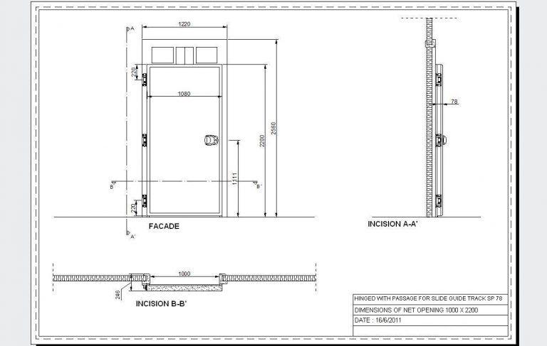 Pvc Door Pvc Door Detail Dwg 47583 Window Detail Wooden Door Design Sliding Doors