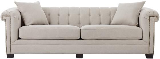 Chandler Arm Long Sofa From Home Decorators Long Sofa Family