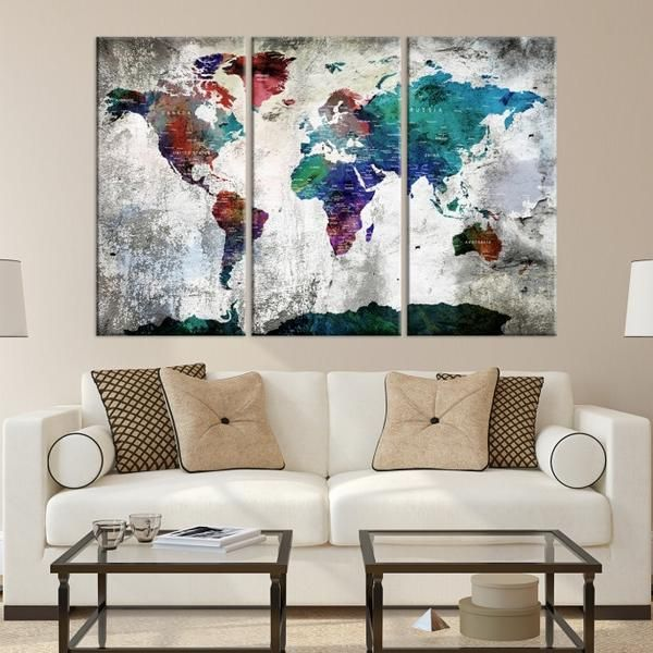 75245 world map wall art world map canvas world map print world 75245 world map wall art world map canvas world map print world map poster world map art world map push pin push pin world map spaces gumiabroncs Image collections