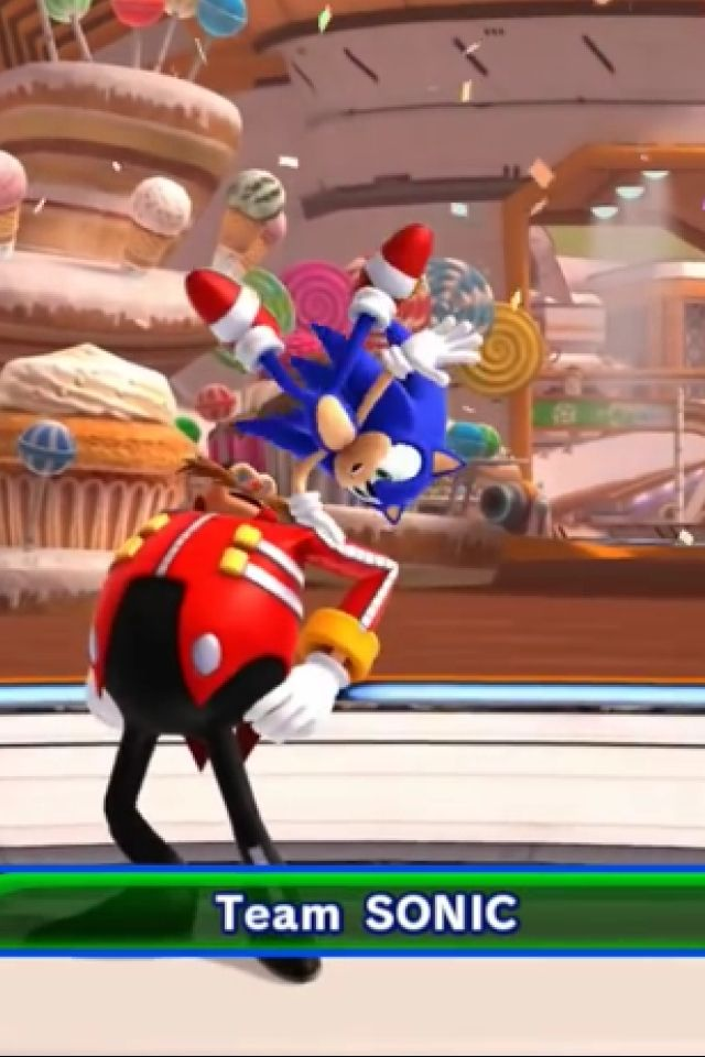 This what happens when you let Sonic take the spotlight.