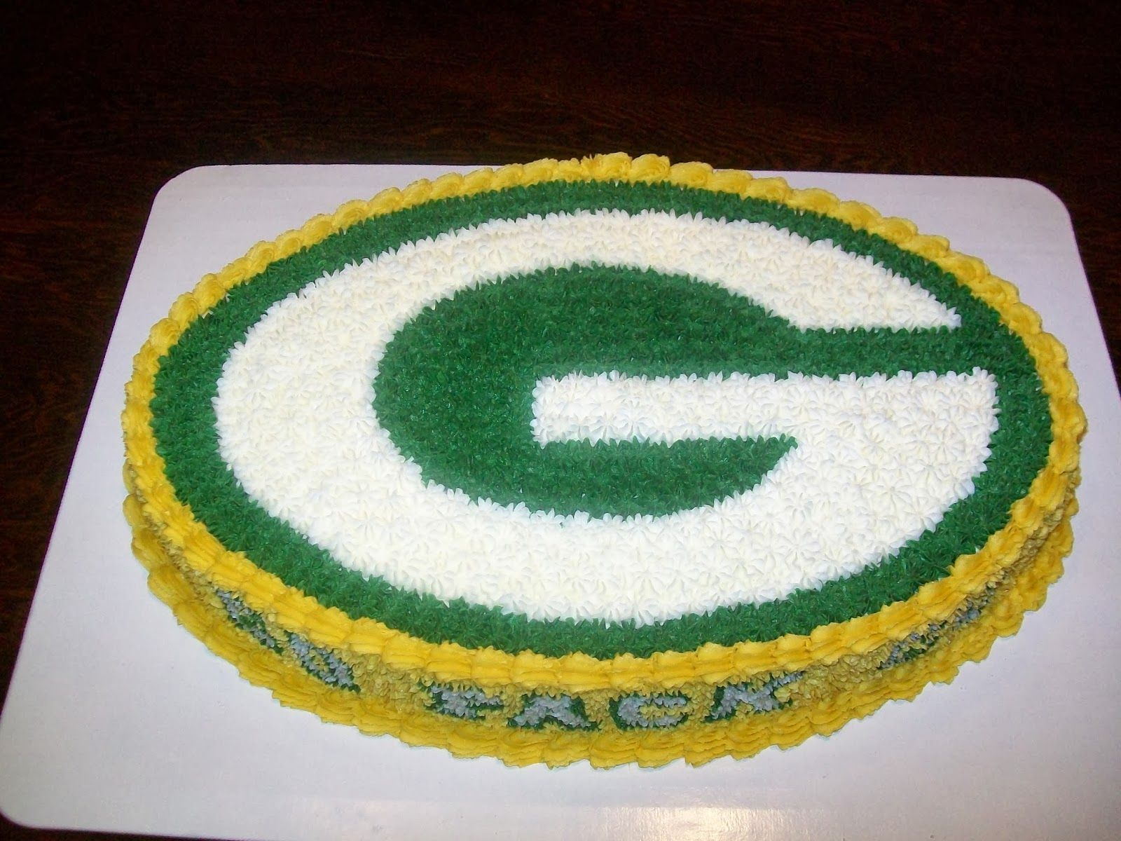 Green Bay Packers Birthday Cake Ideas Green Bay Packers Birthday Green Bay Packers Party Green Bay Packers Cake