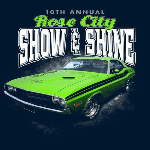 Rose City Show and Shine || KEN YOUNG CO || shirt design, tshirt ...