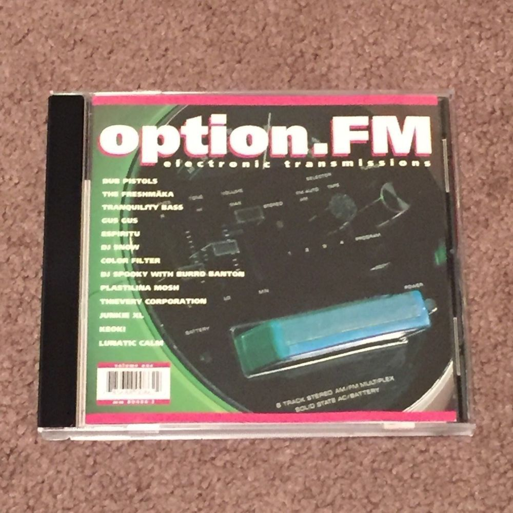 Electronica Medium Font Option Fm Vol 1 By Various Artists Cd Music Electronica