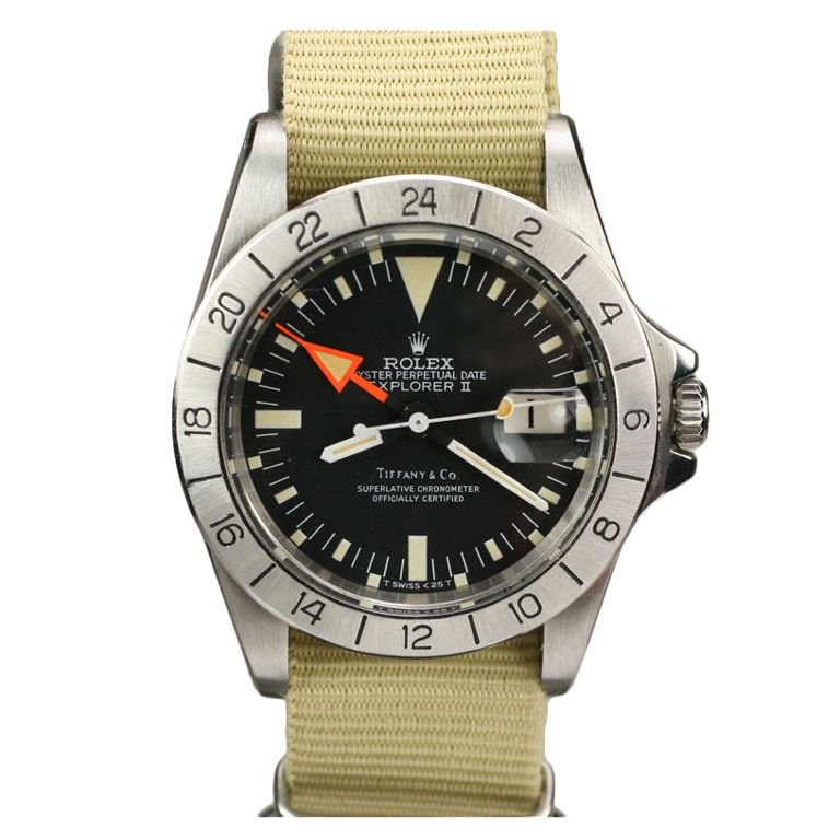 ROLEX Explorer II aka Steve McQueen for Tiffany & Co Ref 1655 #rolexexplorerii