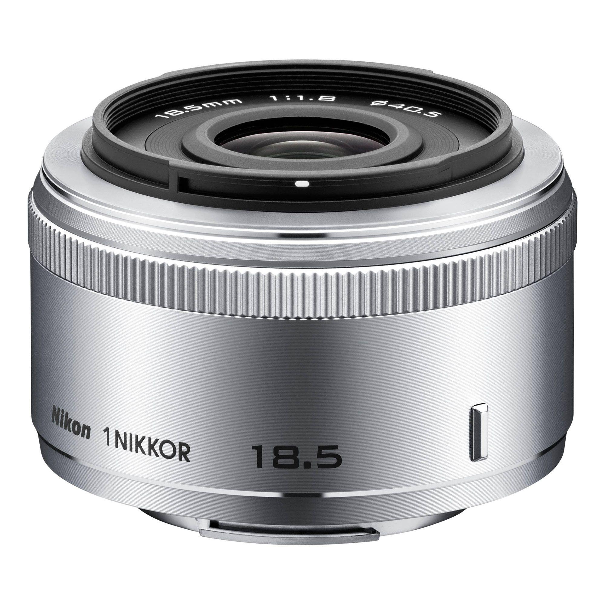 1 Nikkor 18 5mm F 1 8 Silver 186 Nikon Camera Lenses Nikon Mirrorless Camera