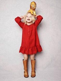Red dress always work