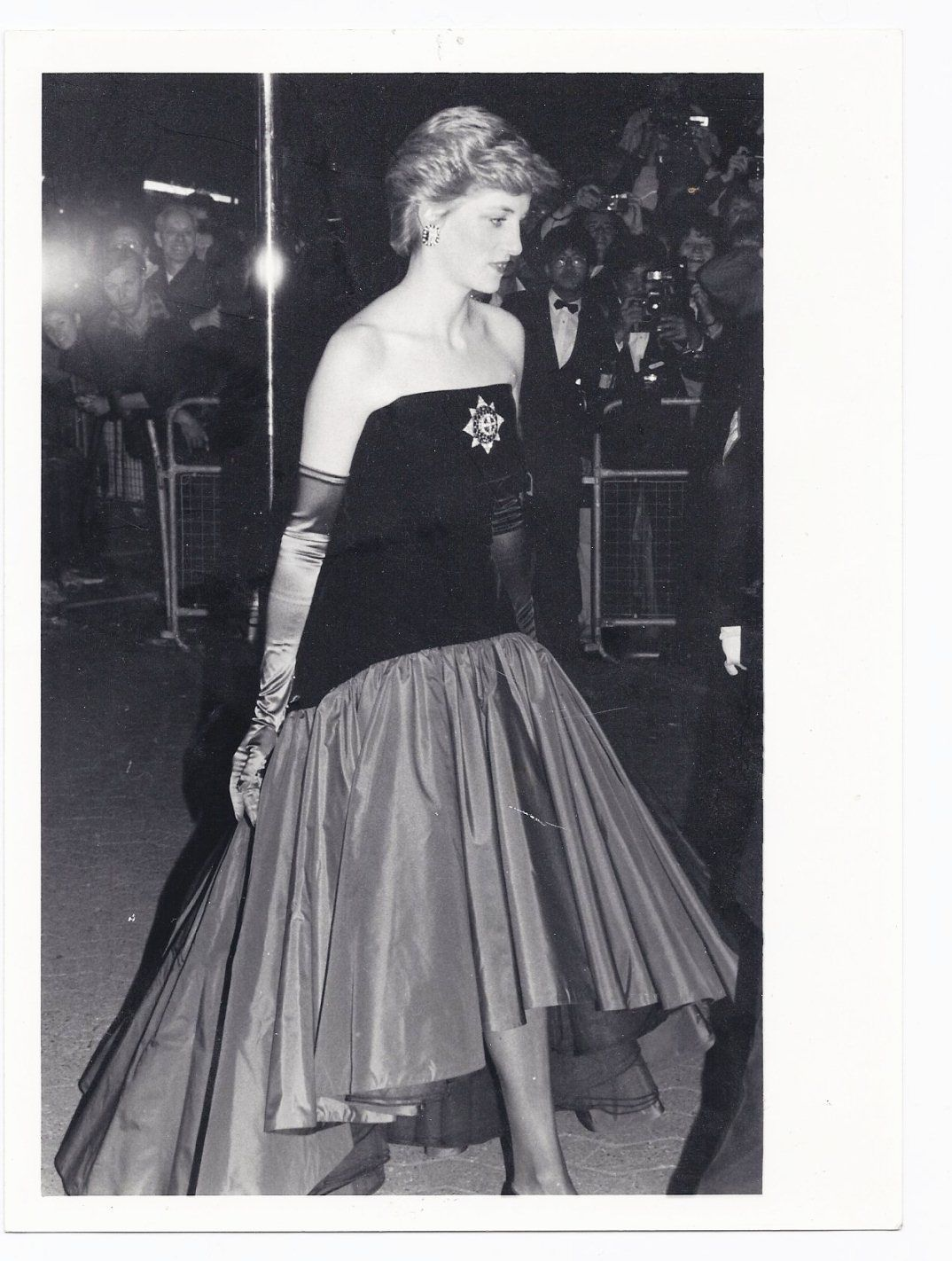 Princess Diana Real Picture from London Movie Premier 1986