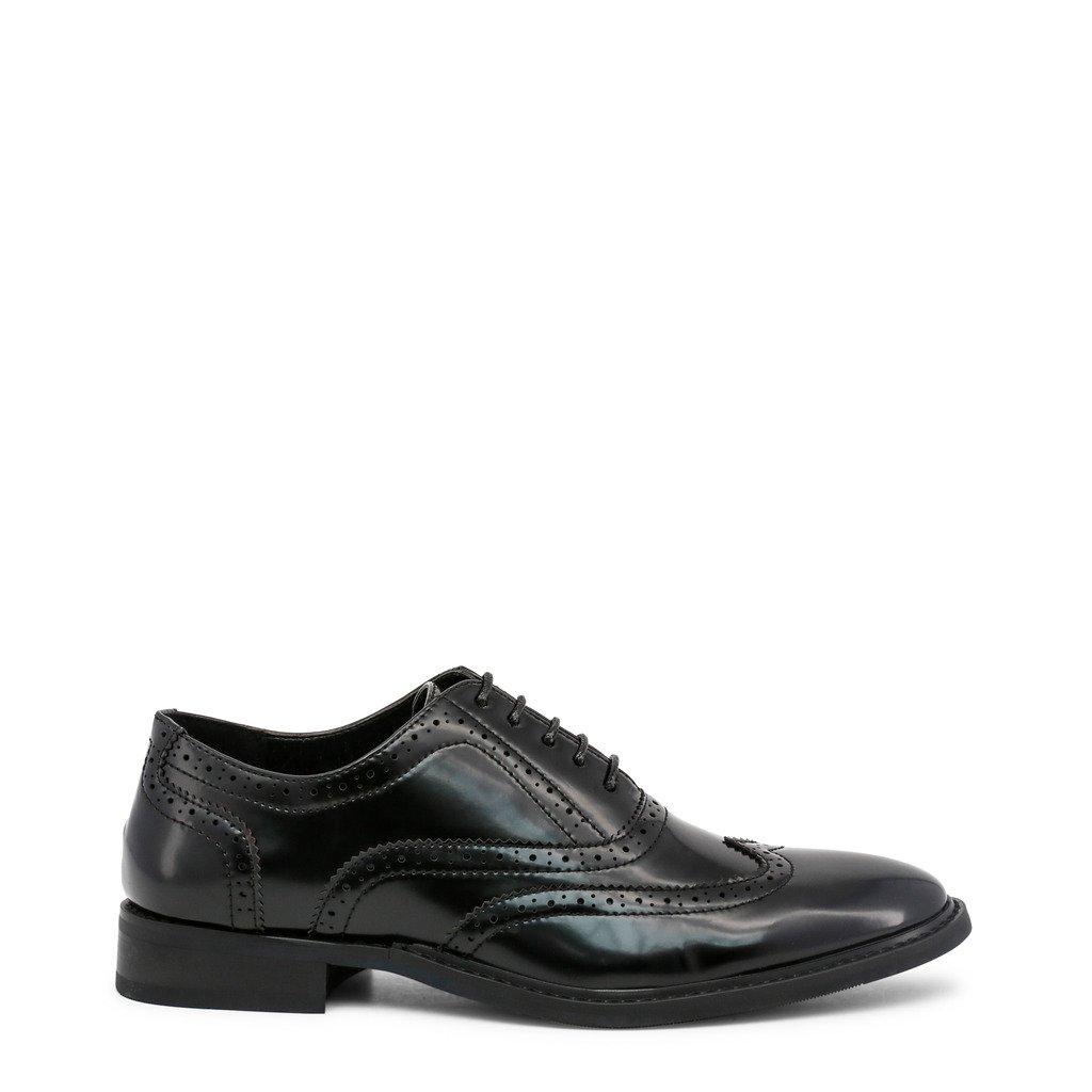 Duca Di Morrone Holden Italian Designer Men S Lace Up Shoes In Brown Black Dress Shoes Men Lace Up Shoes Oxford Shoes [ 1024 x 1024 Pixel ]