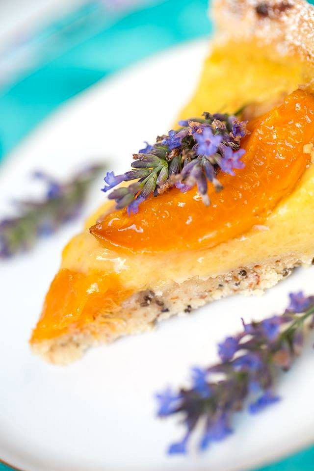 Vegane Aprikosen Tarte   Rezept   Lebensmittel essen ...