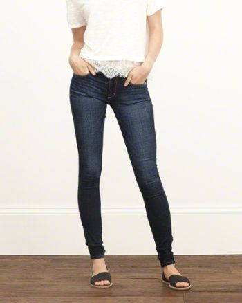 Womens Super Skinny Jeans | Abercrombie.com | Jeans Inverno ...