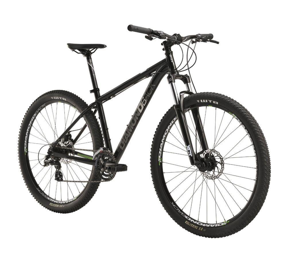 Diamondback Response Mountain Bike With 29 Inch Wheels Black