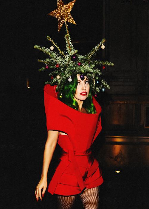 Lady Gaga Karneval Weihnachten