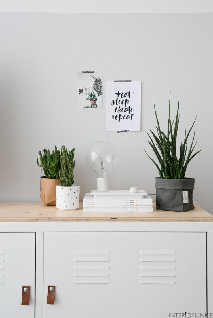 huizentour bij blogger anne van remade with love - woonkamer, Deco ideeën