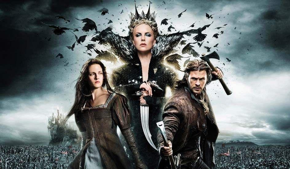 Charlize Theron Traicionada Por Kristen Stewart Blancanieves Y La Leyenda Del Cazador Blanca Nieves Y El Cazador Peliculas En Espanol Latino
