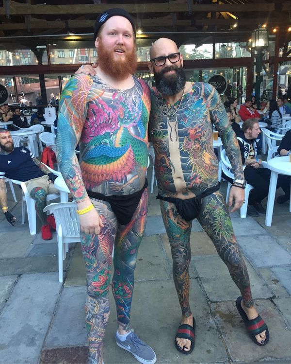 Full Body Tattoos Ideas - Nude & Naked Guys and Gi