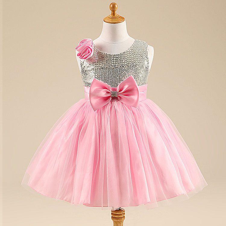Como hacer vestidos de fiesta para niñas | VESTIDOS FIESTA BB ...