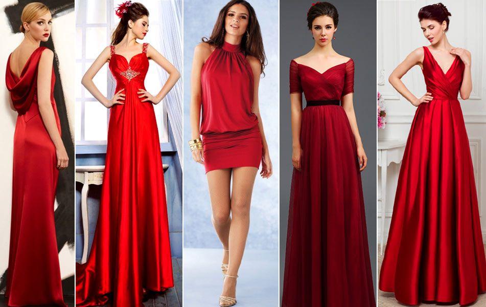 Красные платья для Нового года 2017 | Вечерние платья ...
